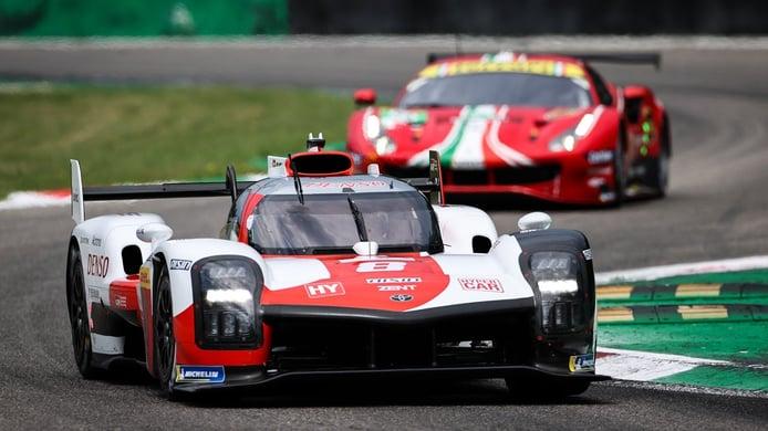 Doblete de Toyota en los primeros libres de las 6 Horas de Monza