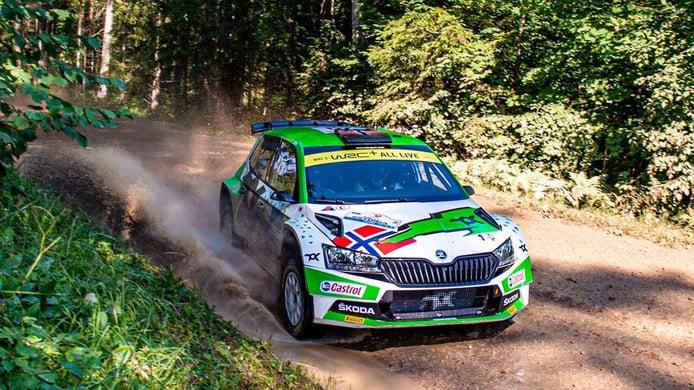 El finlandés Kalle Rovanperä se escapa al frente del Rally de Estonia