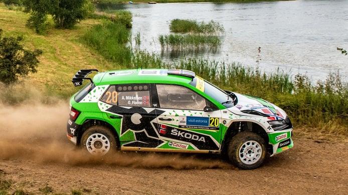 Kalle Rovanperä estrena su palmarés en el WRC tras ganar el Raly de Estonia