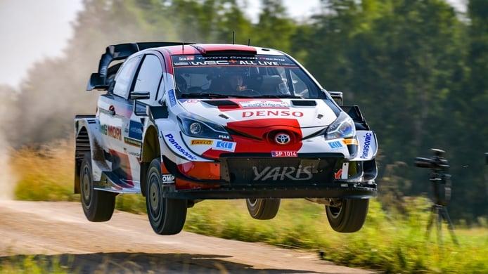 Kalle Rovanperä y Toyota son los primeros líderes del Rally de Estonia