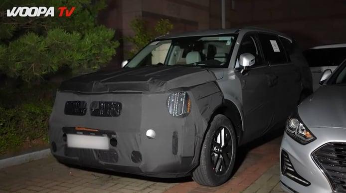 Primeras imágenes del futuro KIA Telluride 2023, la primera actualización del exitoso SUV