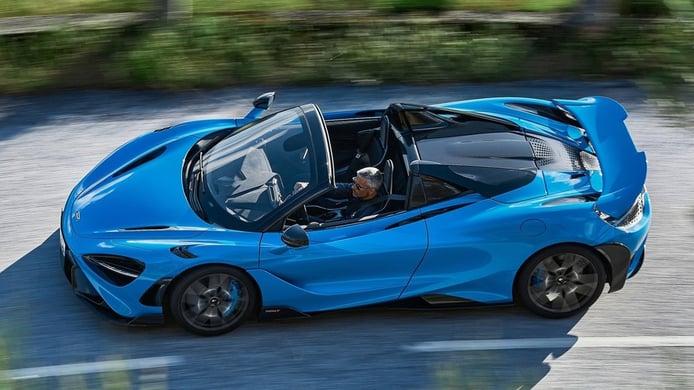 McLaren 765LT Spider - lateral