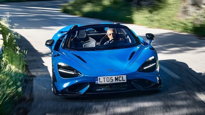 McLaren 765LT Spider - frontal