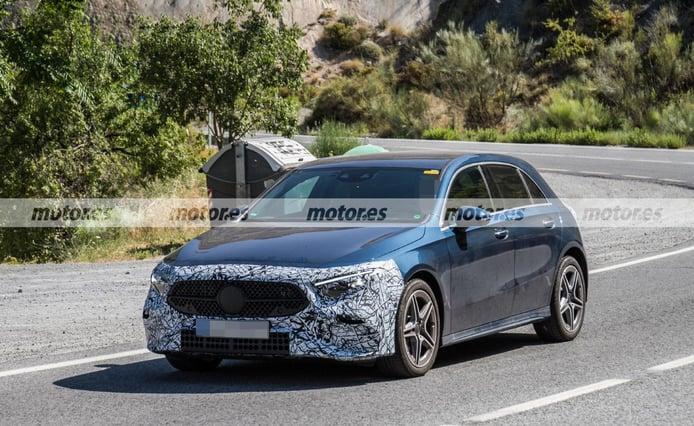 Foto espía Mercedes Clase A Facelift 2022