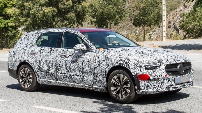 El nuevo Mercedes Clase C All-Terrain se prepara para atacar al Audi A4 allroad quattro