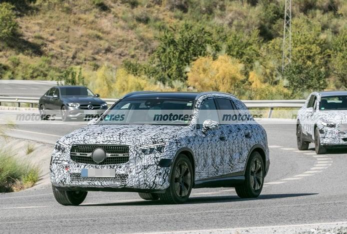 La gama del nuevo Mercedes GLC 2022 incluirá tres variantes híbridas enchufables