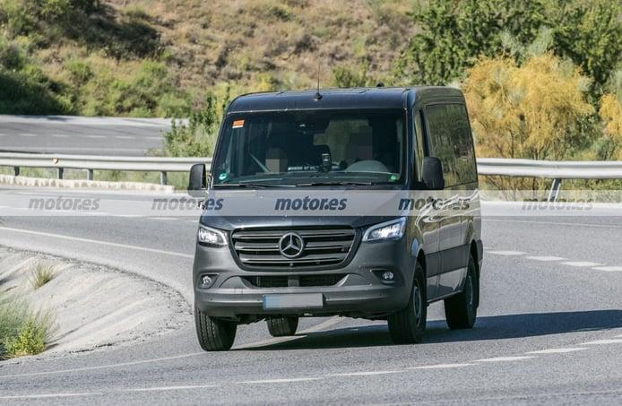 La gama del Mercedes Sprinter 2022 estrenará un nuevo motor diésel más eficiente