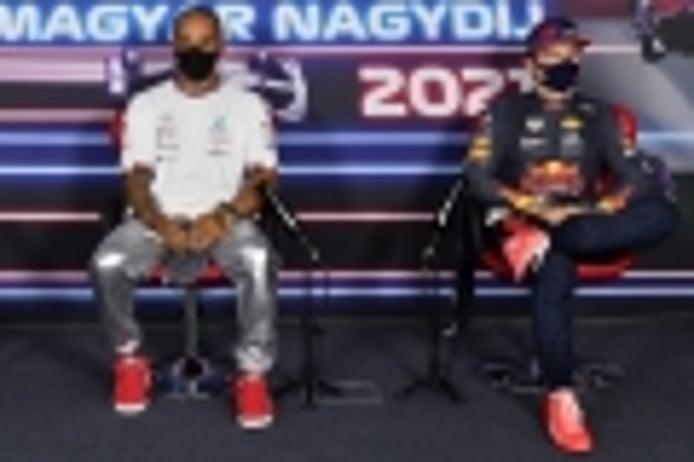 Los ecos del duelo: Hamilton agradece los abucheos y Verstappen abronca a la prensa