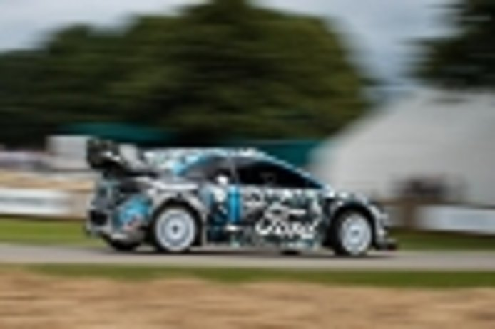 M-Sport presume de Ford Puma Rally1 en el Goodwood Festival of Speed