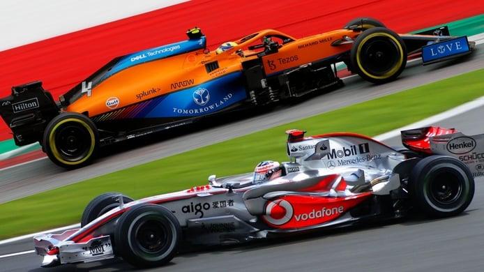 Norris arrebata a Alonso un récord con McLaren de... ¡2007!
