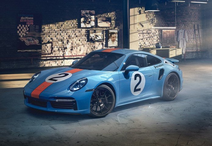 Foto Porsche 911 Turbo S «One of a Kind» - exterior