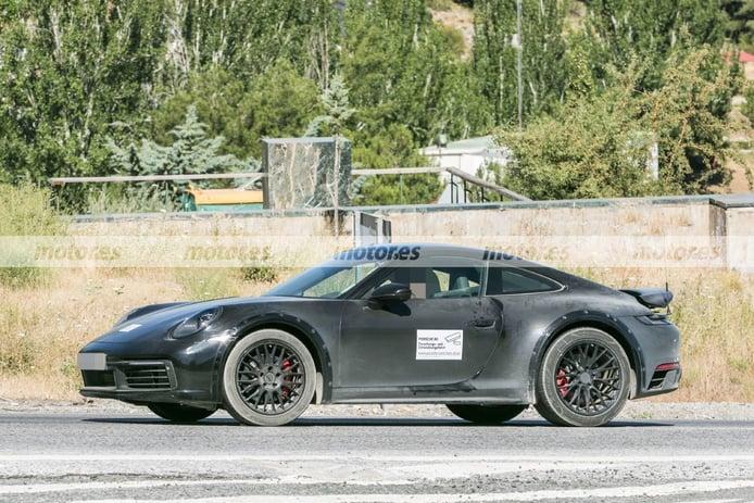 Foto espía Porsche 911 Safari - exterior