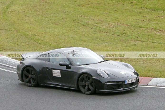Foto espía Porsche 911 Sport Classic - exterior