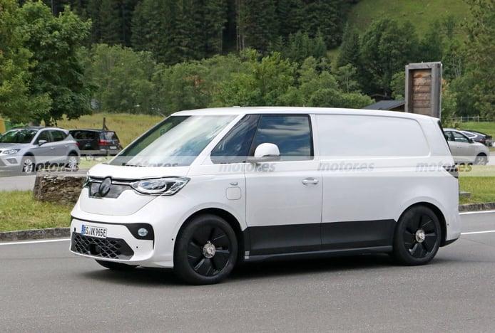 Foto espía Volkswagen ID. Buzz Cargo 2022 - exterior