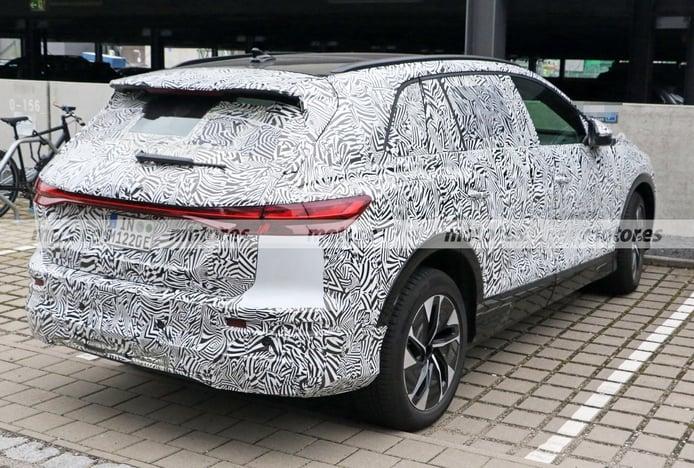 Foto espía Audi Concept Shanghai 2022 - exterior