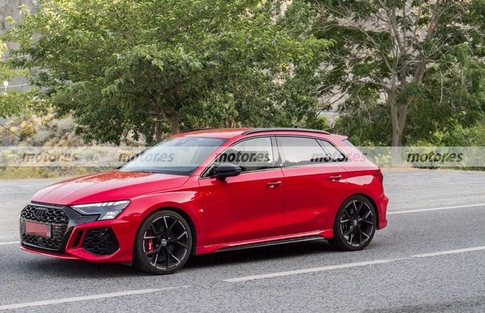 Foto espía Audi RS 3 Sportback 2022 - exterior