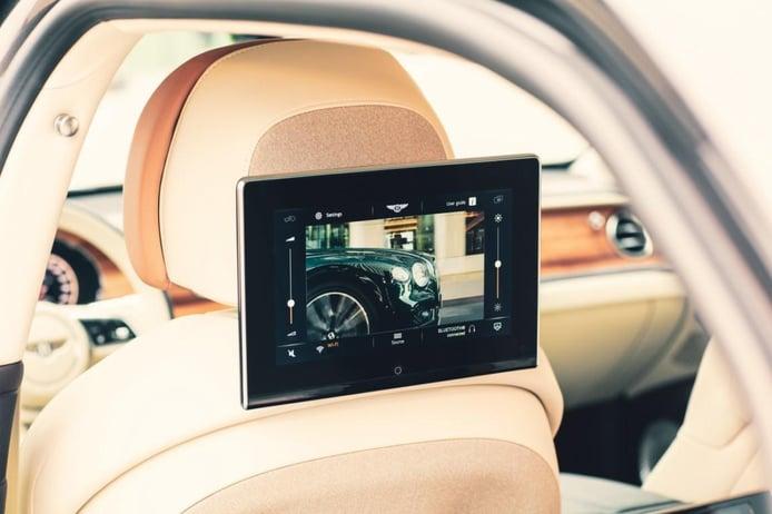 Foto Bentley sistema de entretenimiento trasero