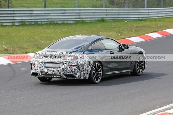 Foto espía BMW Serie 8 Coupé Facelift 2022 - exterior