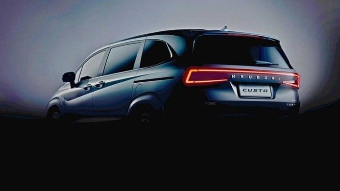 Teaser Hyundai Custo - exterior