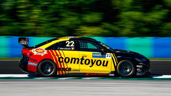 Santiago Urrutia se impone en la carrera principal del WTCR en Hungría