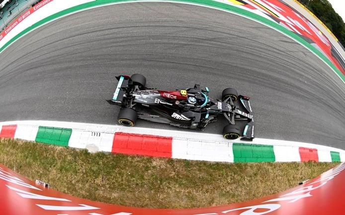 Bottas se hace con la 'no pole' de Monza y saldrá primero en el sprint del sábado