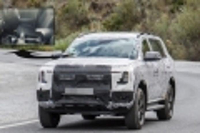 Las claves del interior del nuevo Ford Everest 2023 al descubierto