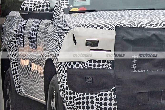 Foto espía Volkswagen Amarok 2023 - exterior