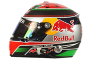 Casco de Brendon Hartley