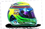 Casco de Felipe Massa