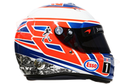 Casco de Jenson Button