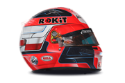 Casco de Robert Kubica