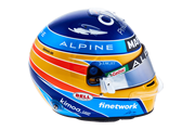 Fernando Alonso - Casco