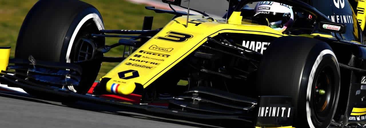 Daniel Ricciardo: foto panorámica