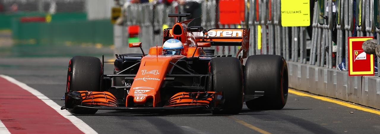 Fernando Alonso: foto panorámica