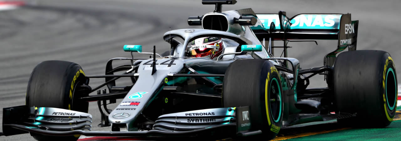 Lewis Hamilton: foto panorámica
