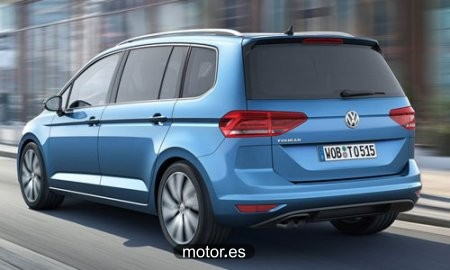 Volkswagen Touran 1.6TDI CR BMT Edition 110 nuevo