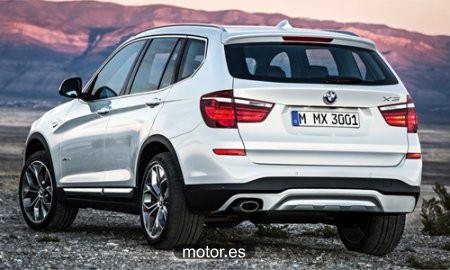 BMW X3 sDrive 18dA 5 puertas nuevo