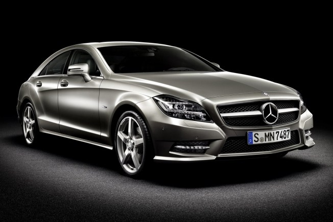 Mercedes Clase CLS Coupe