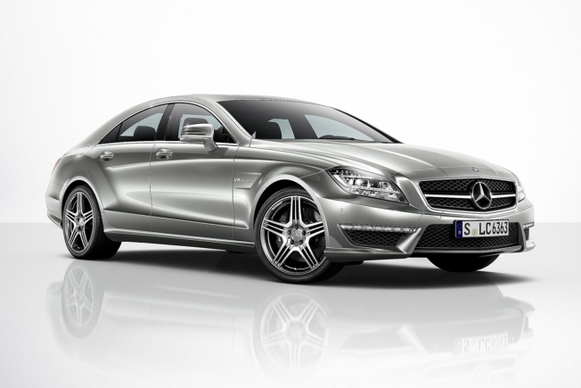 Mercedes Clase CLS Coupe AMG