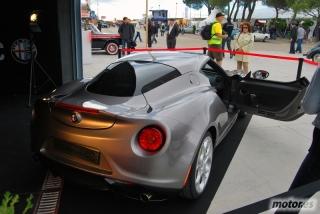 Alfa Romeo 4C en el Jarama Vintage Festival 2013 Foto 12