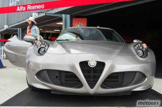 Alfa Romeo 4C en el Jarama Vintage Festival 2013 Foto 5
