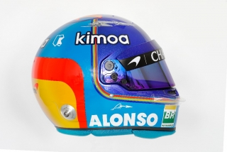 F1 2018: los cascos - Foto 1