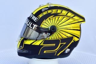 Foto 2 - F1 2019: los cascos