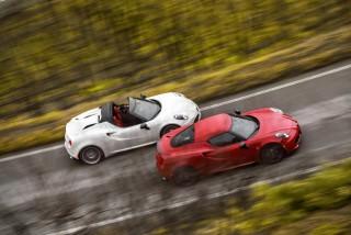 Fotos Alfa Romeo 4C Spider Foto 5
