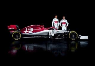 Fotos Alfa Romeo C38 F1 2019 Foto 1