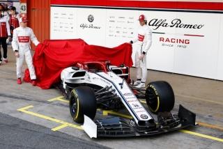 Fotos Alfa Romeo C38 F1 2019 Foto 24
