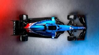 Las fotos del Alpine A521 de F1 2021