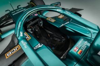 Las fotos del Aston Martin AMR21 de F1 2021 - Foto 1