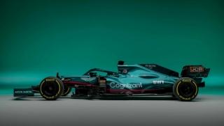 Las fotos del Aston Martin AMR21 de F1 2021 - Miniatura 4