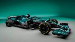 Las fotos del Aston Martin AMR21 de F1 2021 - Miniatura 5